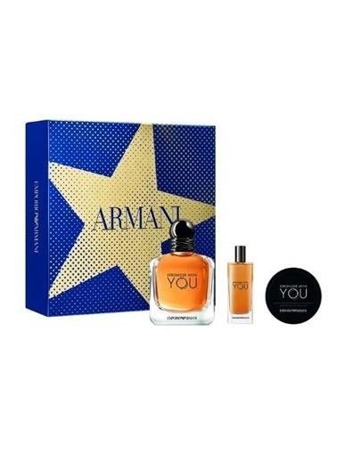Emporio Armani Parfüm Set Renksiz